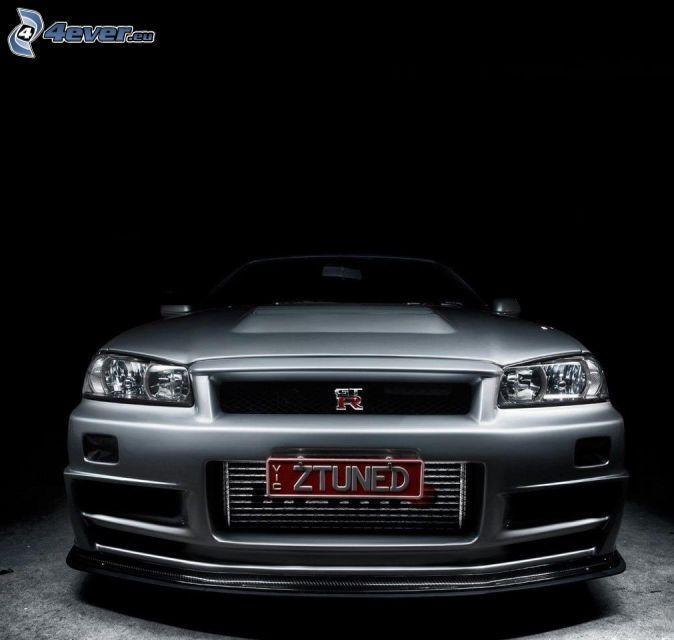 Nissan Skyline GT-R, front grille