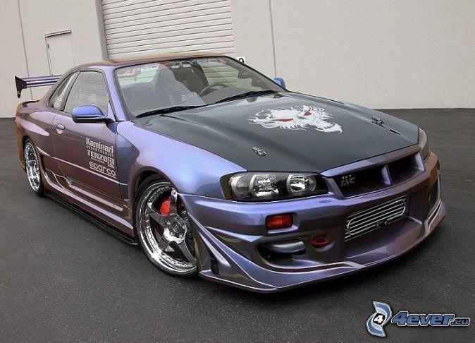 Nissan skyline r34 тюнинг фото