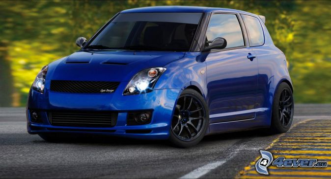 pin tuned suzuki swift sport 2008 car tuning pictures on. Black Bedroom Furniture Sets. Home Design Ideas