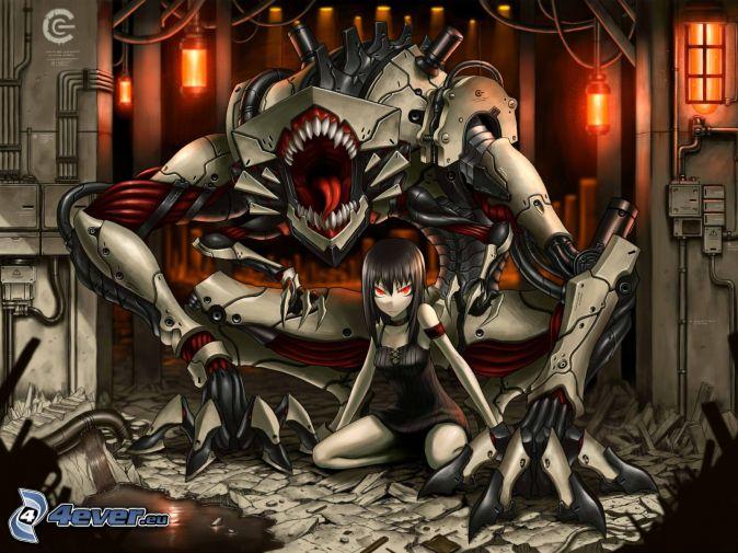 Dark,Monster&Demon Anime-girl,-monster-155086