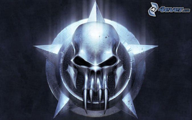Warrior , Grim Reaper , skull , evil change