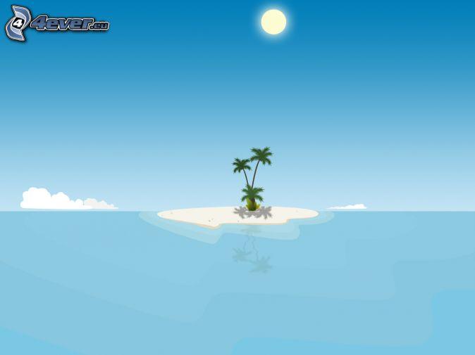 Deserted Tropical Island: Tropical Island