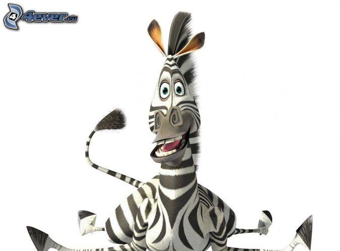 zebra from Madagascar