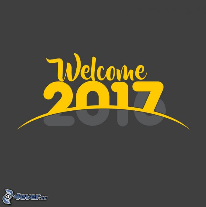 2017, welcome
