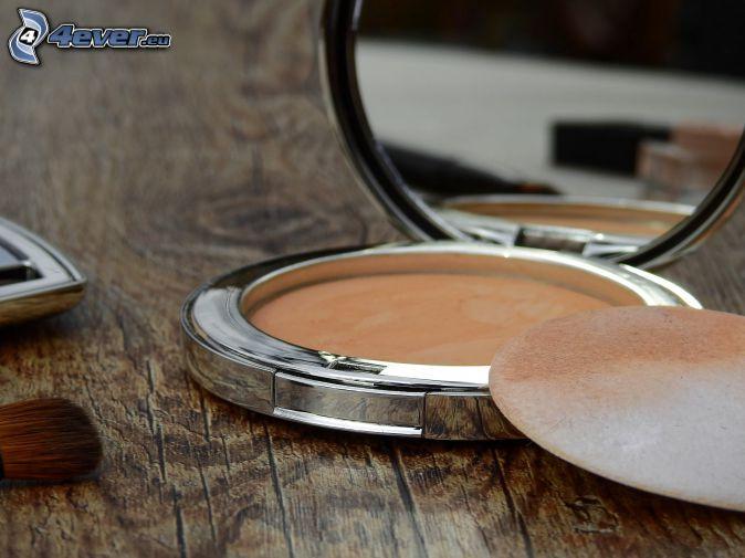 make-up, mirror