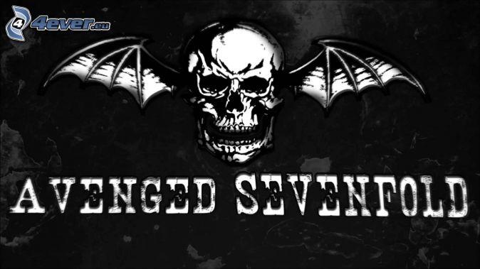 Avenged Sevenfold, skull, wings