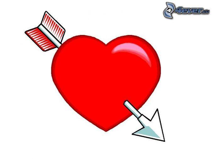 Pierced heart