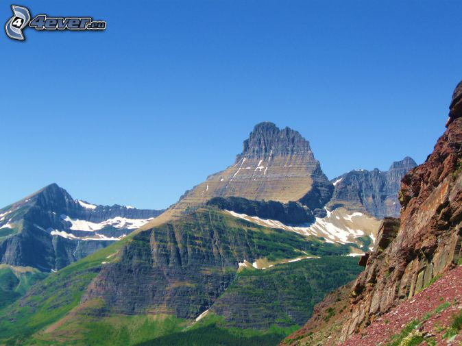 Mount Wilber, rocky mountains