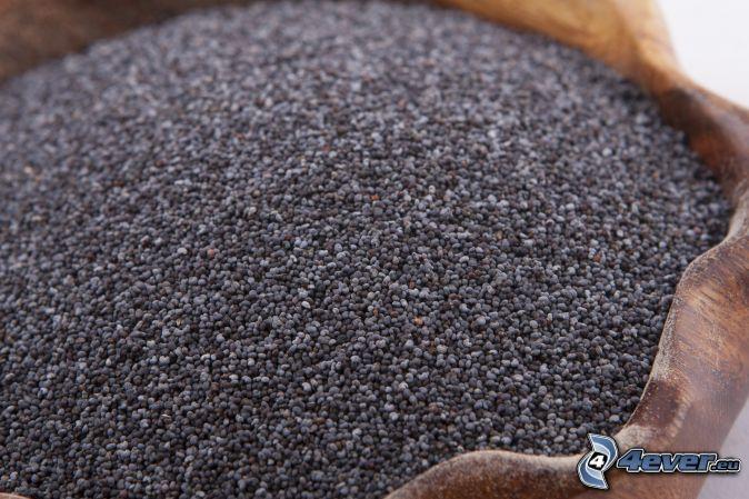 poppy seed, bowl