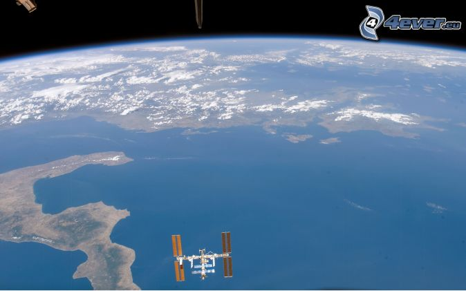 international space station from earth to current transportation - photo #11