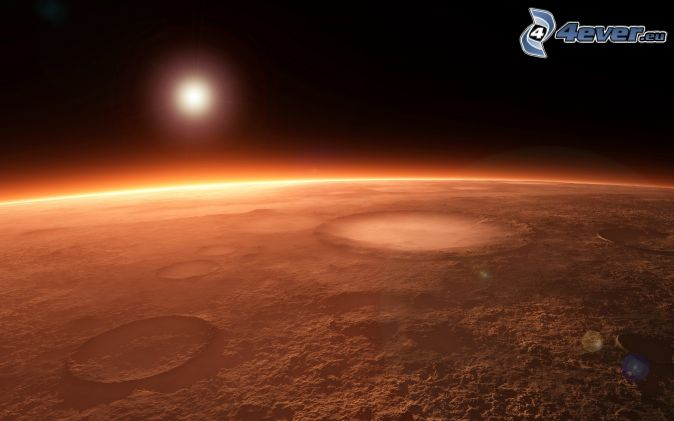 as red planet mars - photo #12