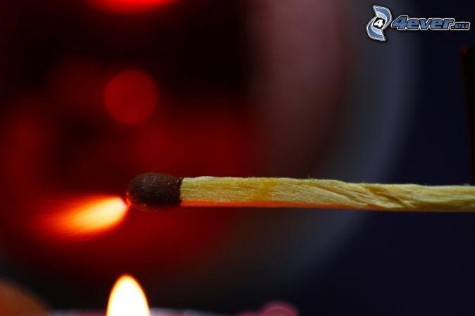 match, fire, spark