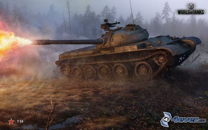 World of Tanks, shot