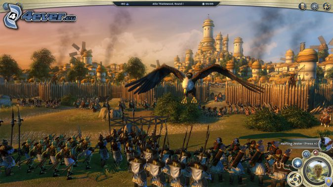 Age of Wonders, Army, village, fence