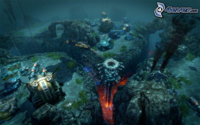 Anno 2070, cliff