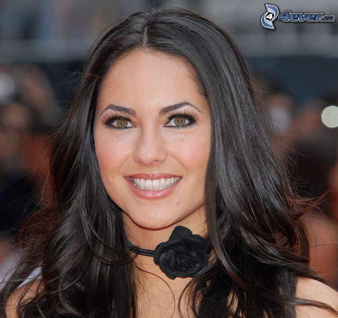 Barbara Mori, smile, look
