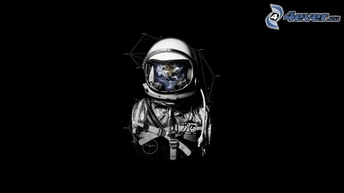 Skeleton Astronaut - Pics about space