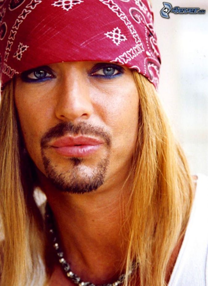 Bret michaels without wig on bret michaels39s behalf myideasbedroom