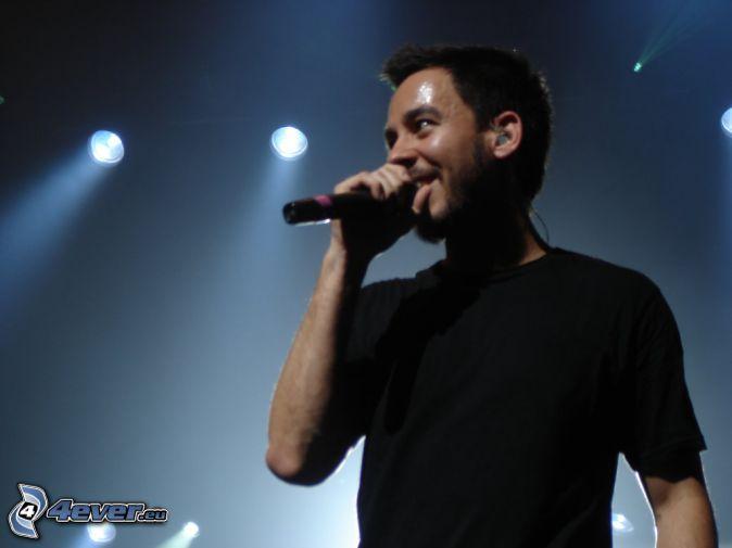 Mike Shinoda, singing