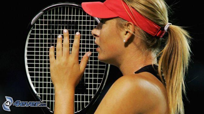 Maria Sharapova Head Tennis Racquet Maria Sharapova Tennis Player