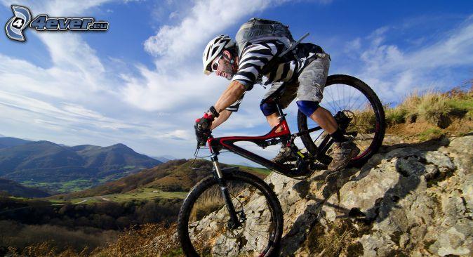 cyclist, MTB Downhill