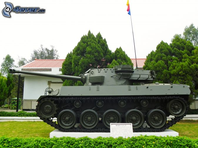 M18 Hellcat, tank, exhibition, park
