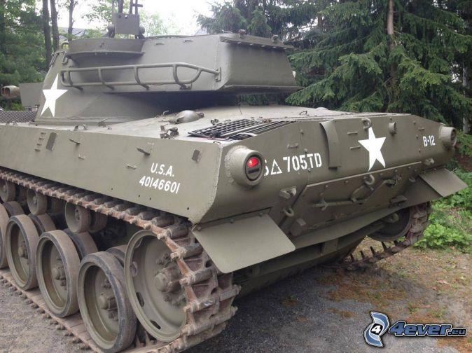M18 Hellcat, tank