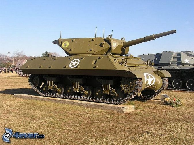 M18 Hellcat, tanks