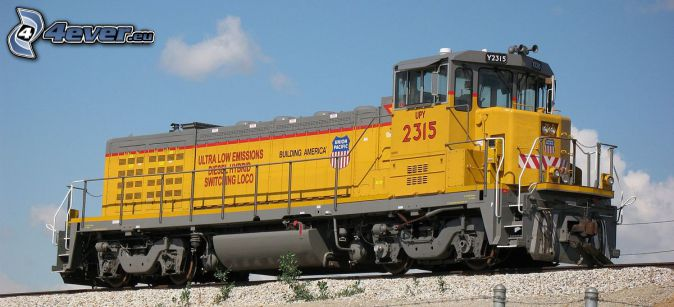 locomotive, Union Pacific