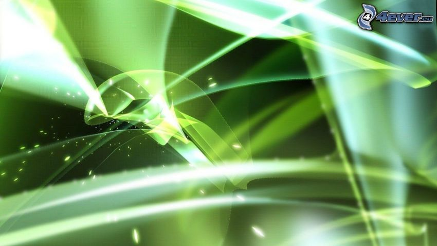 abstract, green background