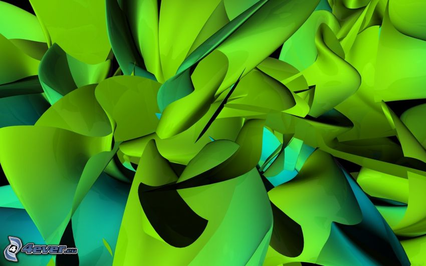 abstract background, green background