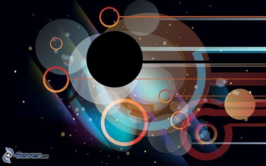abstract circles