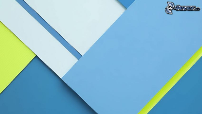 blue background, abstract rectangles