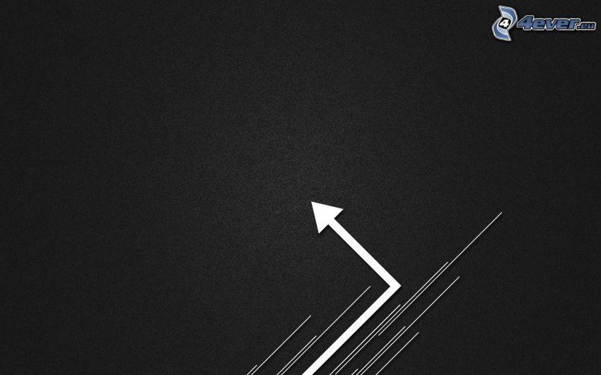 darts, white lines
