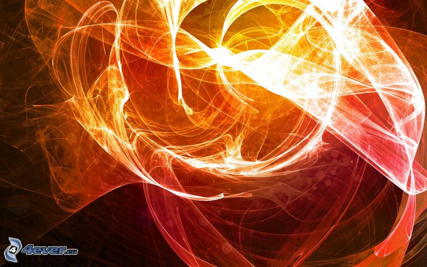 fire lines, abstract