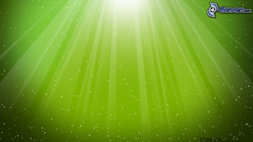green lines, green background