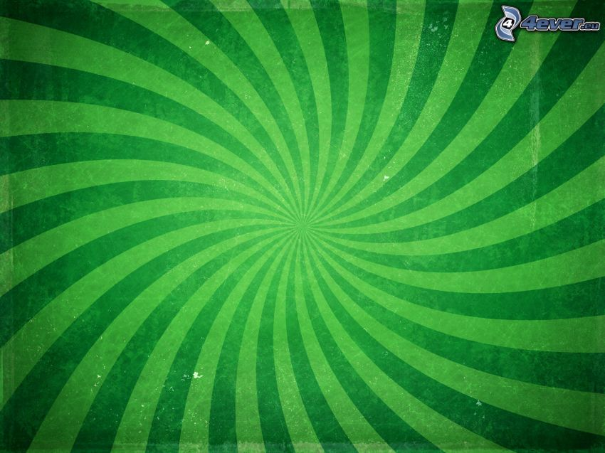 green stripes, green background
