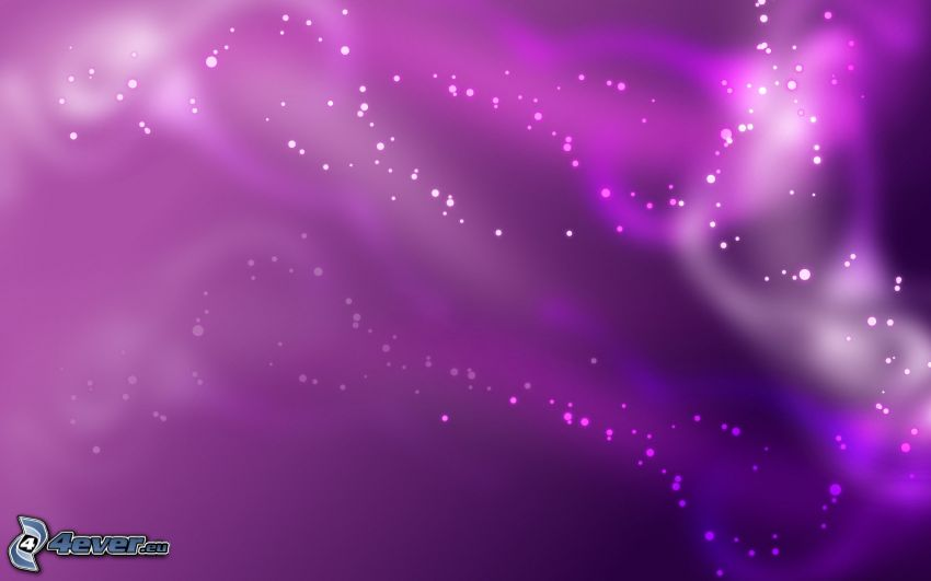 purple background, circles