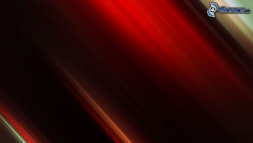 red background, lines