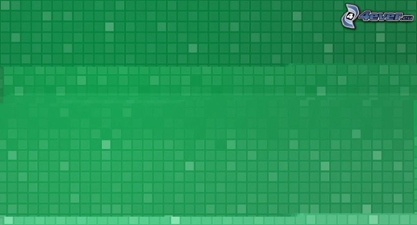 squares, green background