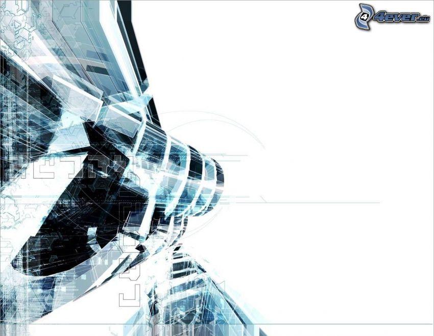 Techno, abstract