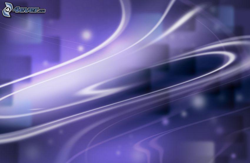 white lines, purple background