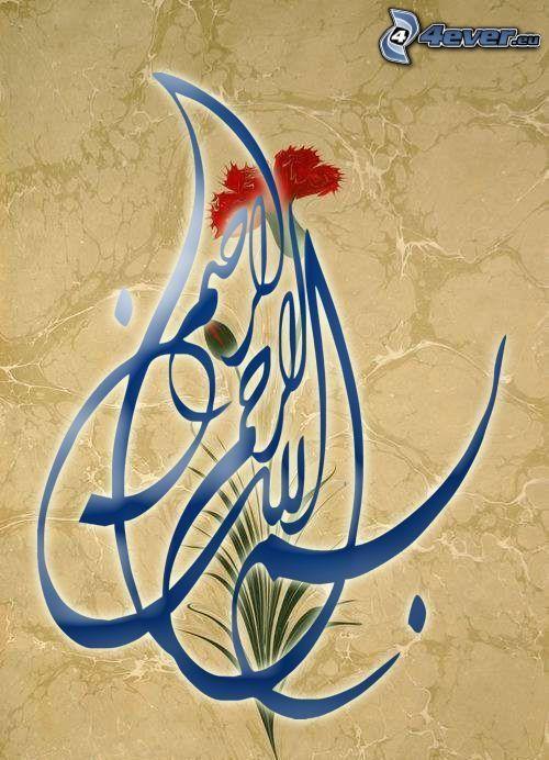 emblem, red flower