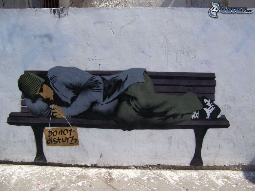 graffiti, homeless