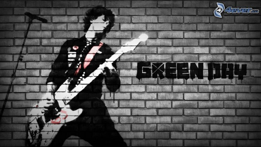 Green Day, graffiti