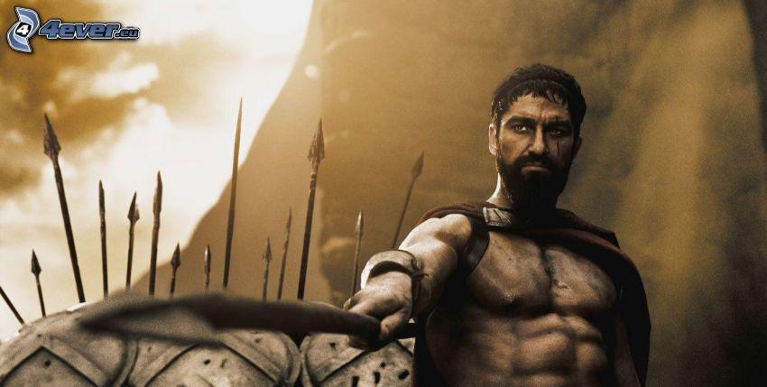 300, warrior, king