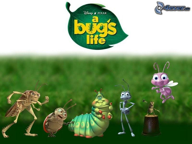 A Bug's Life, cartoon