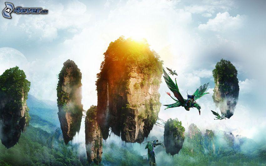 Avatar, flying islands
