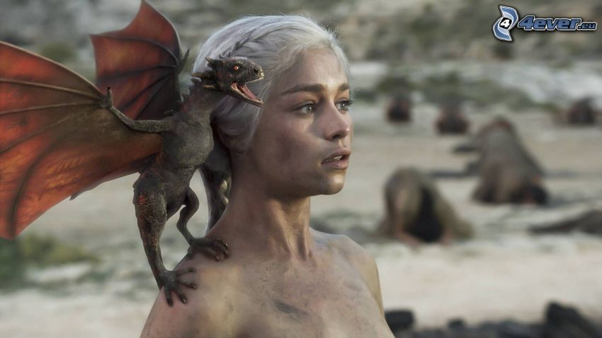 Daenerys Targaryen, A Game of Thrones, dragon