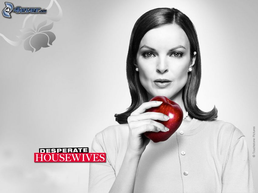 Desperate Housewives, red apple